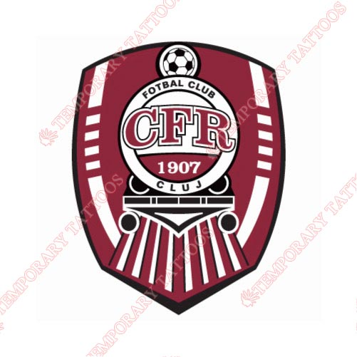 CFR Cluj Customize Temporary Tattoos Stickers NO.8280