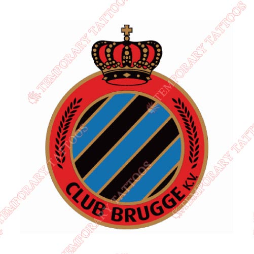 Club Brugge Customize Temporary Tattoos Stickers NO.8288