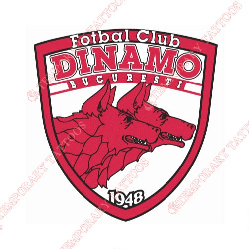 Dinamo Bucharest Customize Temporary Tattoos Stickers NO.8300