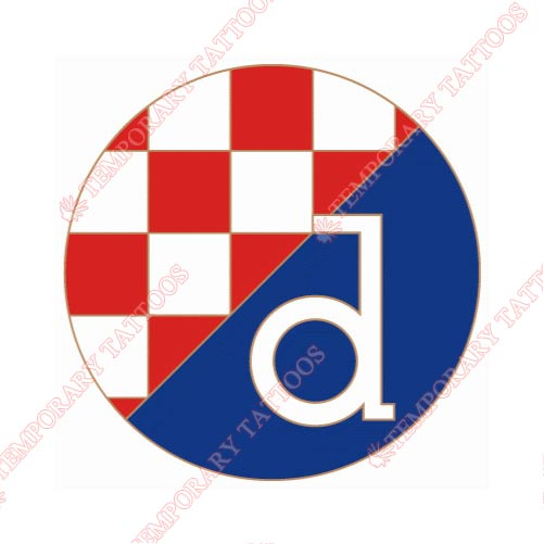 Dinamo Zagreb Customize Temporary Tattoos Stickers NO.8303