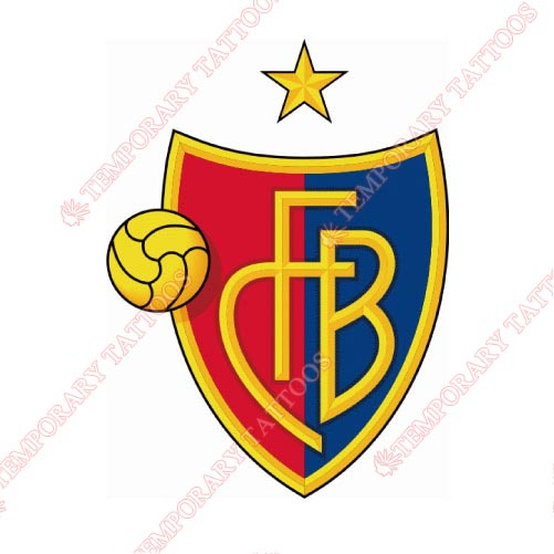 FC Basel Customize Temporary Tattoos Stickers NO.8317