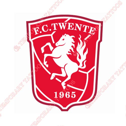 FC Twente Customize Temporary Tattoos Stickers NO.8326