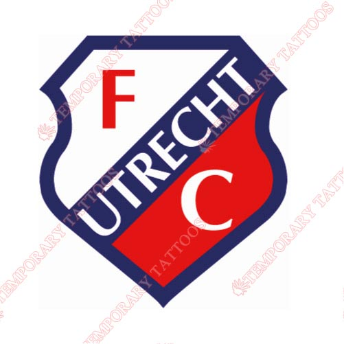 FC Utrecht Customize Temporary Tattoos Stickers NO.8327