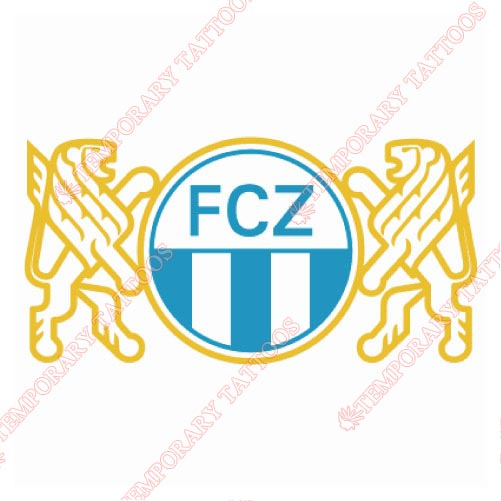 FC Zurich Customize Temporary Tattoos Stickers NO.8328