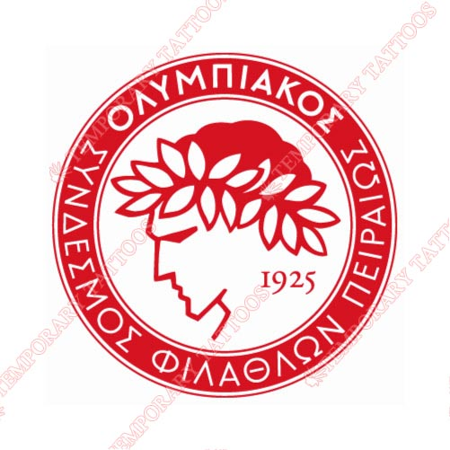 Olympiakos Customize Temporary Tattoos Stickers NO.8422