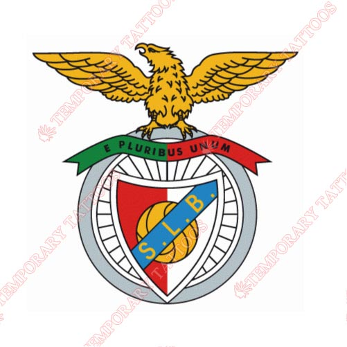 S.L. Benfica Customize Temporary Tattoos Stickers NO.8465