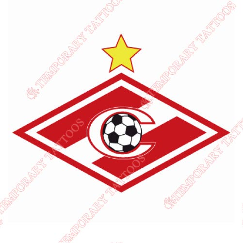 Spartak Moscow Customize Temporary Tattoos Stickers NO.8488