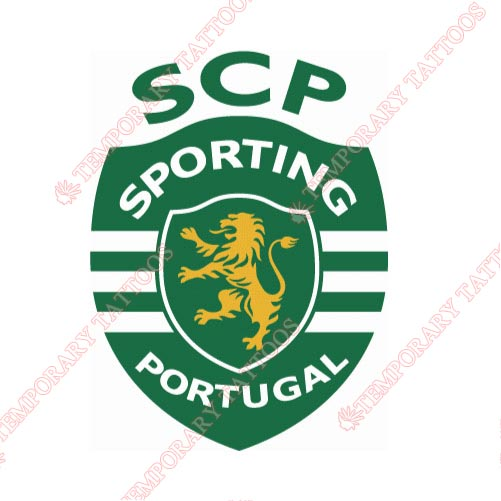 Sporting Lisbon Customize Temporary Tattoos Stickers NO.8493