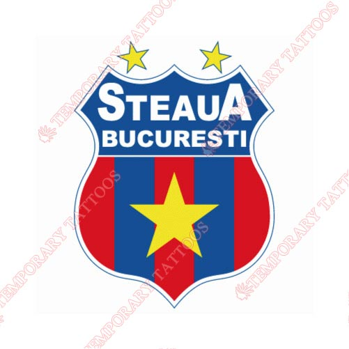 Steaua Bucharest Customize Temporary Tattoos Stickers NO.8499