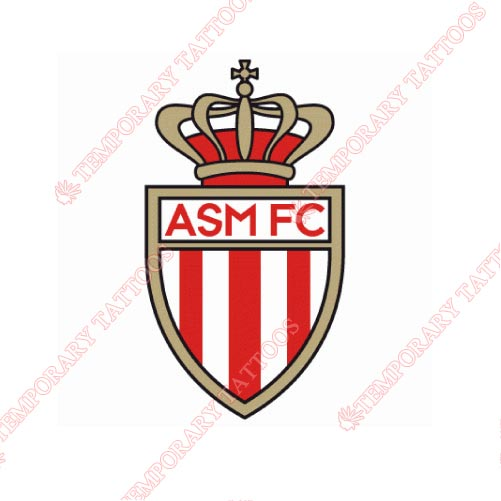 AS Monaco Customize Temporary Tattoos Stickers NO.8242