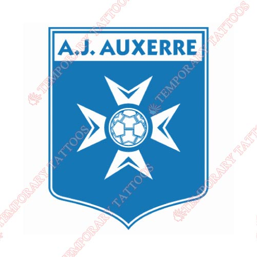 Auxerre Customize Temporary Tattoos Stickers NO.8254