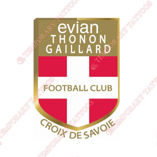Evian Thoron Gaillard Customize Temporary Tattoos Stickers NO.8312