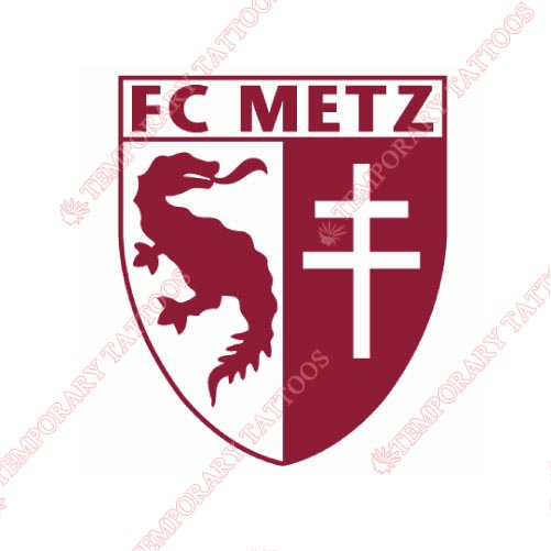 FC Metz Customize Temporary Tattoos Stickers NO.8322