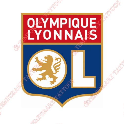 Olympique Lyonnais Customize Temporary Tattoos Stickers NO.8423