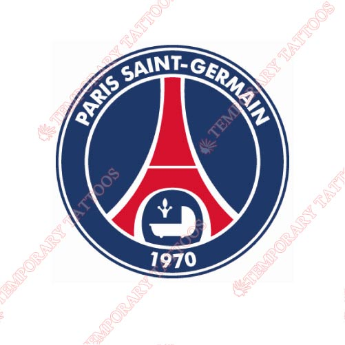 Paris Saint Germain Customize Temporary Tattoos Stickers NO.8429