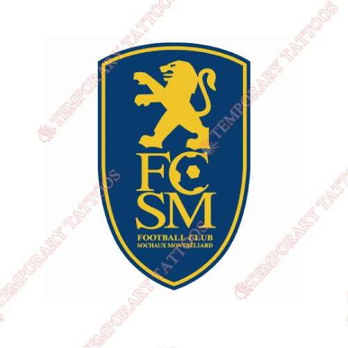 Sochaux Customize Temporary Tattoos Stickers NO.8485