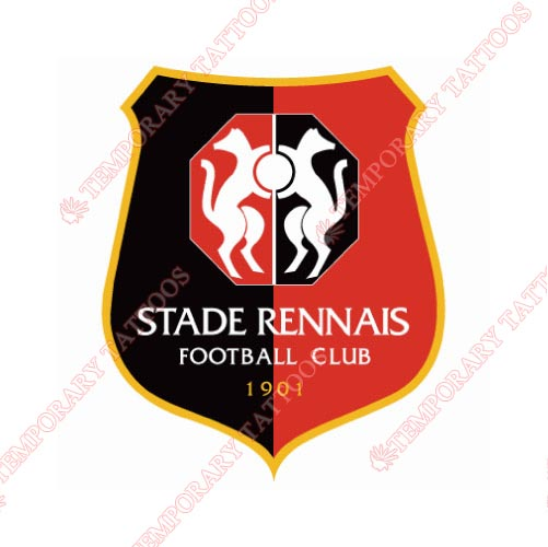 Stade Rennes Customize Temporary Tattoos Stickers NO.8497