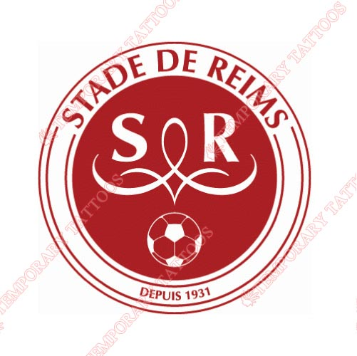 Stade de Reims Customize Temporary Tattoos Stickers NO.8496