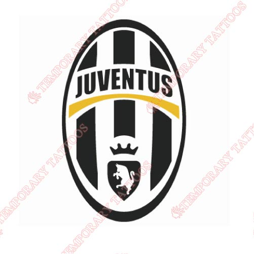 Juventus Customize Temporary Tattoos Stickers NO.8366