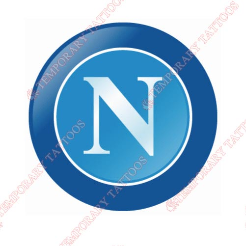 Napoli Customize Temporary Tattoos Stickers NO.8404