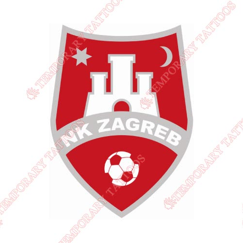 NK Zagreb Customize Temporary Tattoos Stickers NO.8416