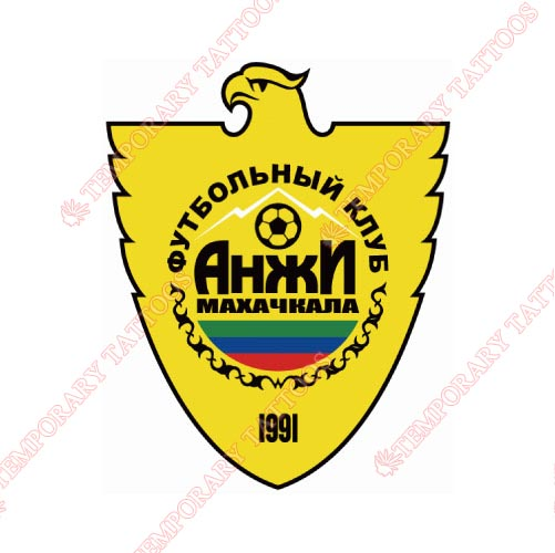 Anzhi Makhachkala Customize Temporary Tattoos Stickers NO.8237