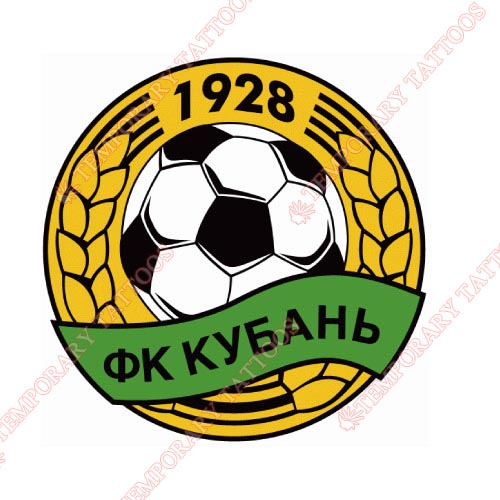 Kuban Krasnodar Customize Temporary Tattoos Stickers NO.8372