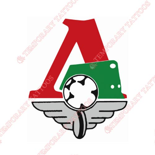 Lokomotiv Moscow Customize Temporary Tattoos Stickers NO.8380