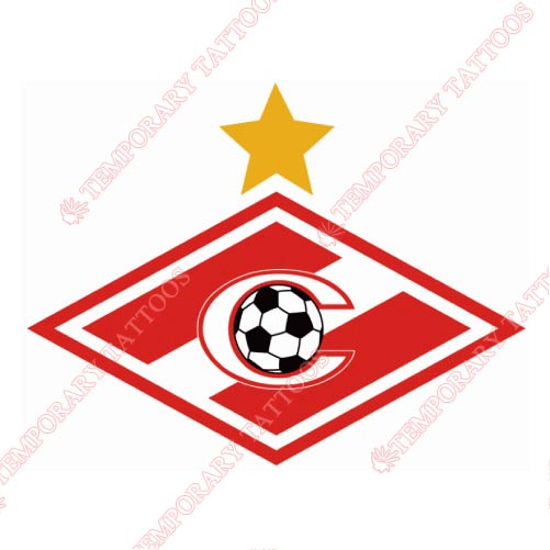 Spartak Moscow Customize Temporary Tattoos Stickers NO.8489
