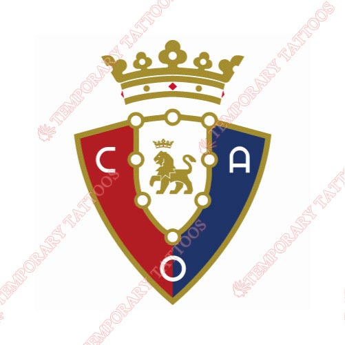 Osasuna Customize Temporary Tattoos Stickers NO.8425