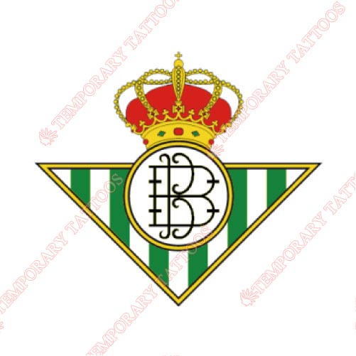 Real Betis Customize Temporary Tattoos Stickers NO.8448