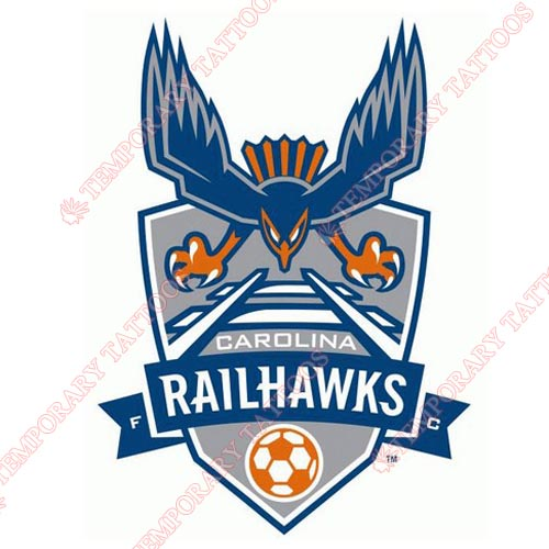 Carolina RailHawks FC Customize Temporary Tattoos Stickers NO.8275