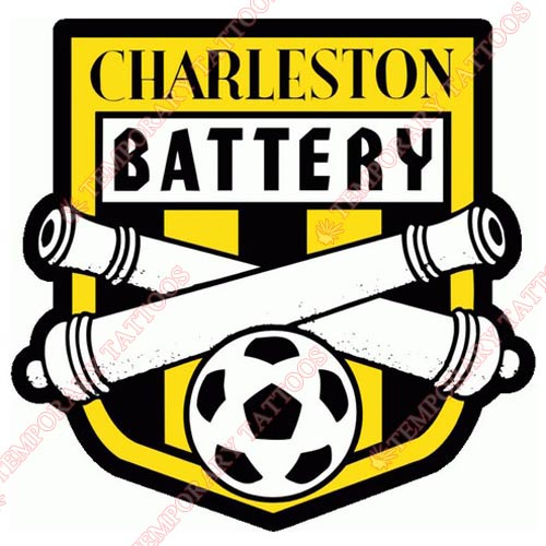 Charleston Battery Customize Temporary Tattoos Stickers NO.8281