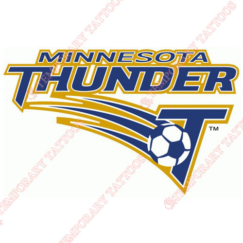 Minnesota Thunder Customize Temporary Tattoos Stickers NO.8393