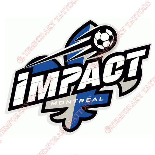 Montreal Impact Customize Temporary Tattoos Stickers NO.8401