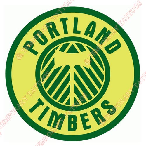 Portland Timbers Customize Temporary Tattoos Stickers NO.8436