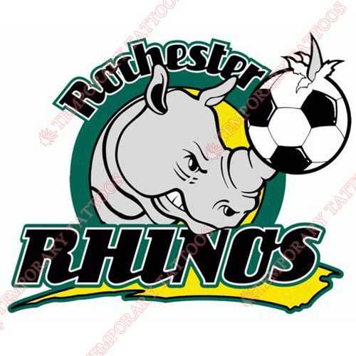 Rochester Rhinos Customize Temporary Tattoos Stickers NO.8460