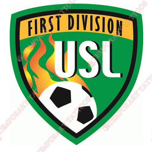 USL First Division Customize Temporary Tattoos Stickers NO.8516