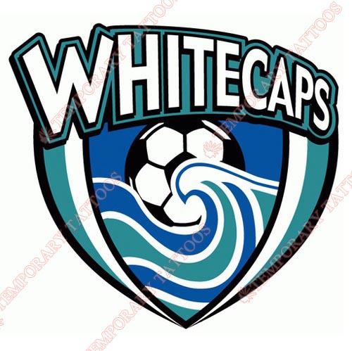 Vancouver Whitecaps Customize Temporary Tattoos Stickers NO.8522