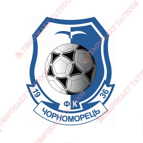 Chornomorets Odesa Customize Temporary Tattoos Stickers NO.8285