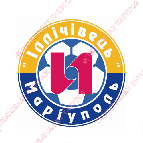 Illichivets Mariupol Customize Temporary Tattoos Stickers NO.8364