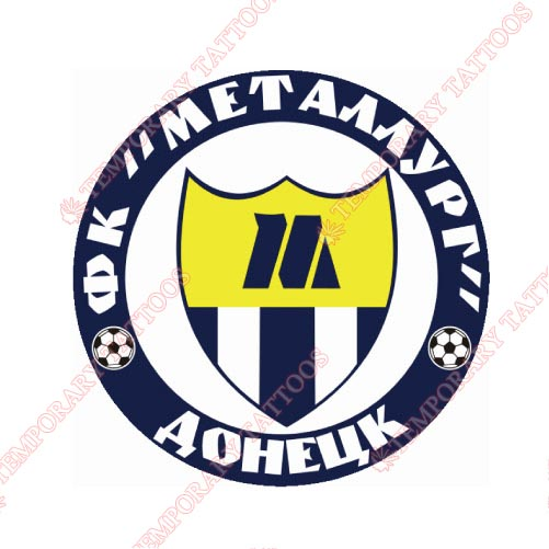 Metalurh Donetsk Customize Temporary Tattoos Stickers NO.8390