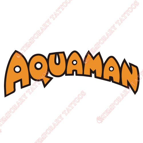Aquaman Customize Temporary Tattoos Stickers NO.439