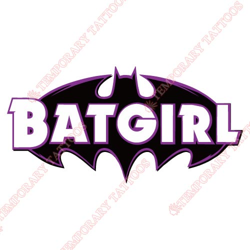 Batgirl Customize Temporary Tattoos Stickers NO.1