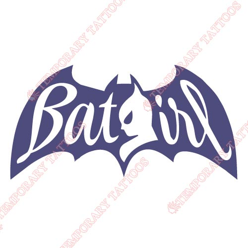 Batgirl Customize Temporary Tattoos Stickers NO.2