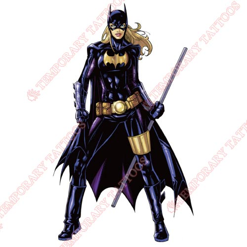 Batgirl Customize Temporary Tattoos Stickers NO.8