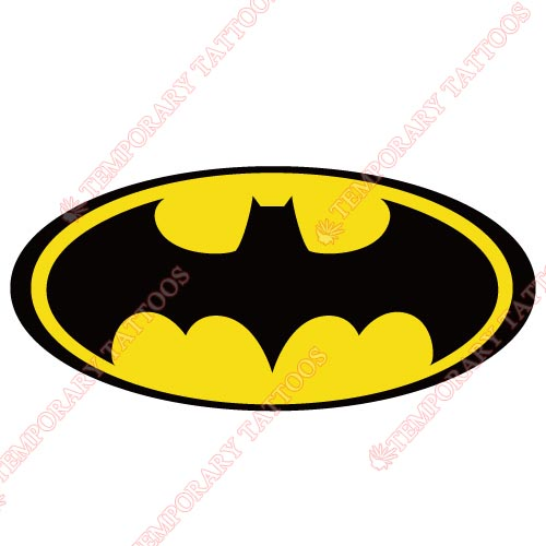 Batman Customize Temporary Tattoos Stickers NO.17