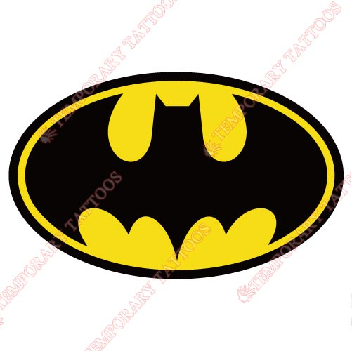Batman Customize Temporary Tattoos Stickers NO.19