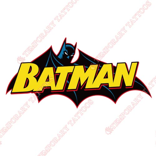 Batman Customize Temporary Tattoos Stickers NO.20