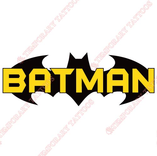 Batman Customize Temporary Tattoos Stickers NO.21